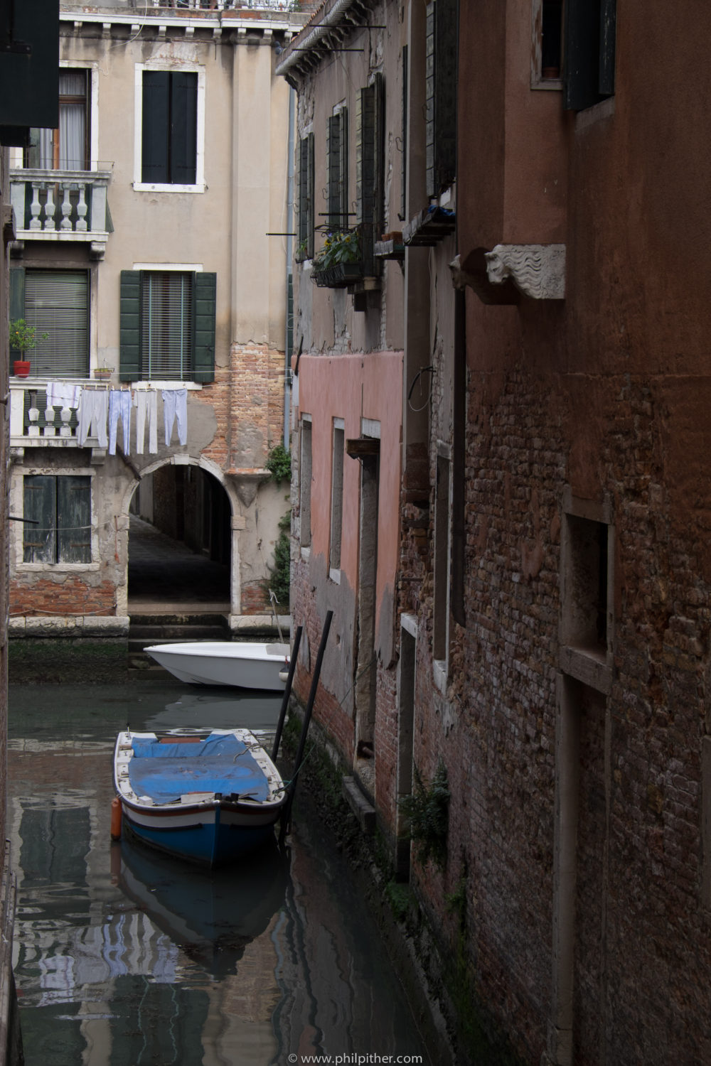 Venice - back streets/canals